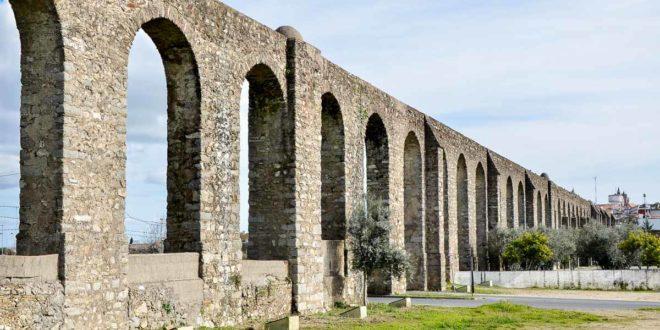 photos evora aqueduct