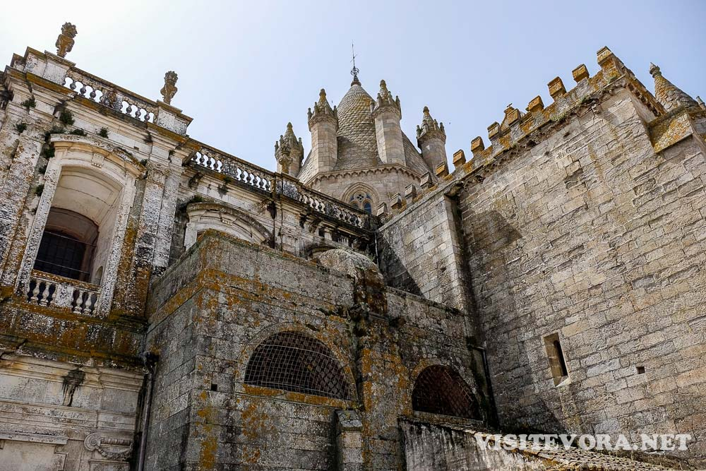 Church Evora Cathedral