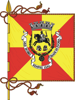 evora coat arms flag