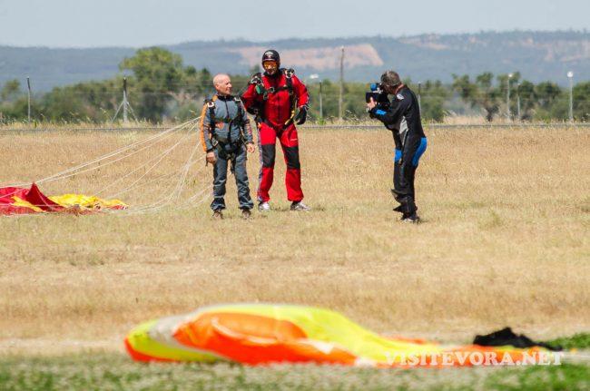 tandem skydiving evora
