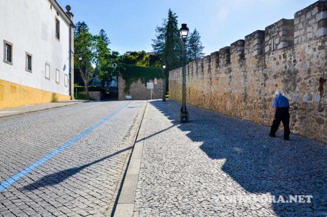 walls evora visit