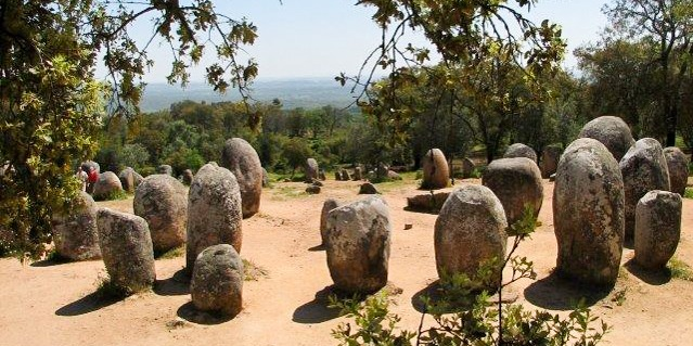 Cycling Megalithic Monuments Around Evora