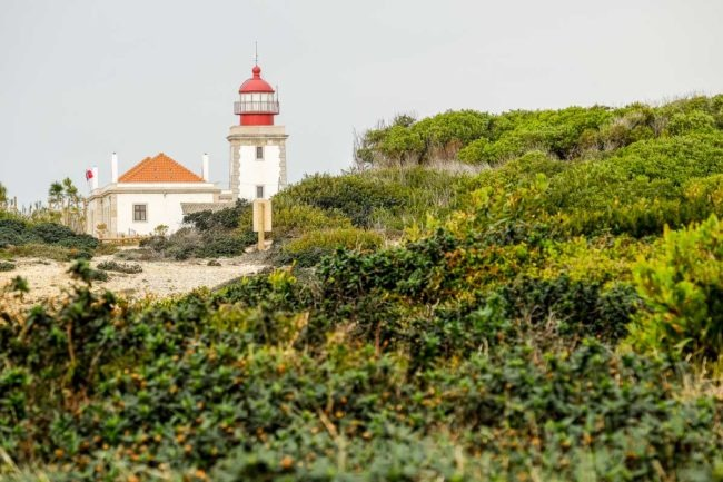 trekking alentejo lighthouse