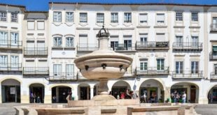 Local shops in Evora