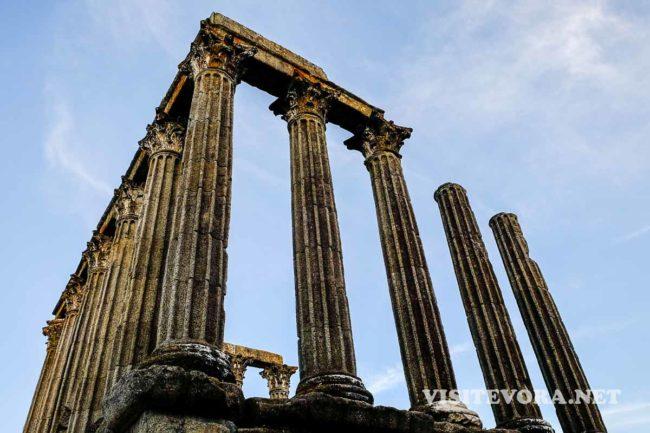 roman temple evora
