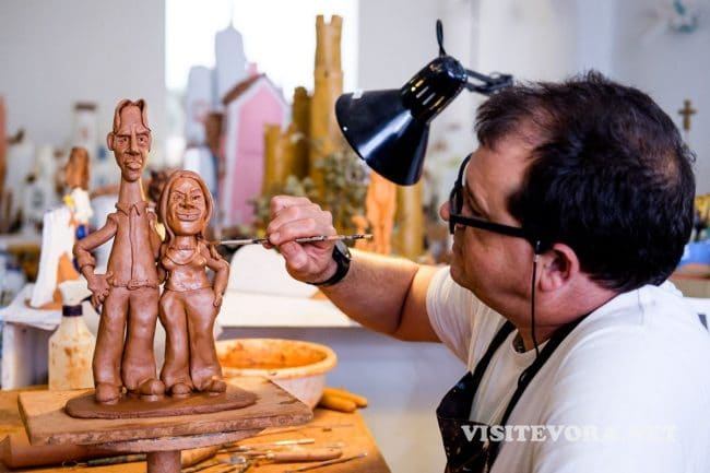 artist potter evora