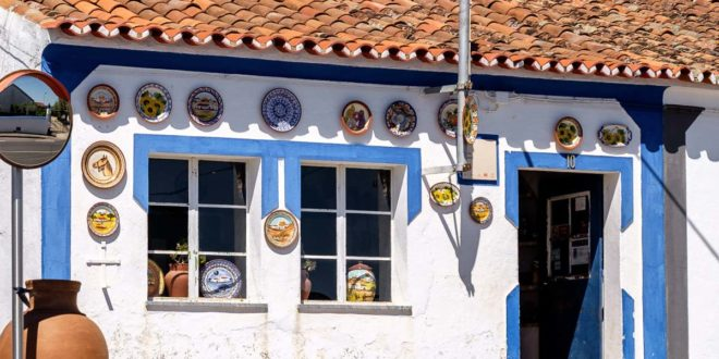 Sao Pedro do Corval, the largest pottery centre in Portugal