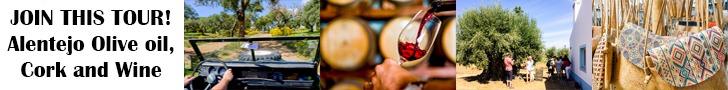 Alentejo Tour - Olive Oil, Cork and Wine