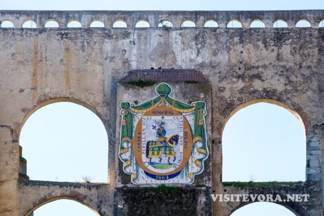 aqueduct elvas coat arms