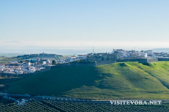 elvas fort view