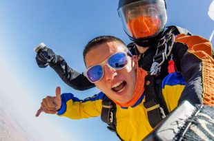 skydiving evora