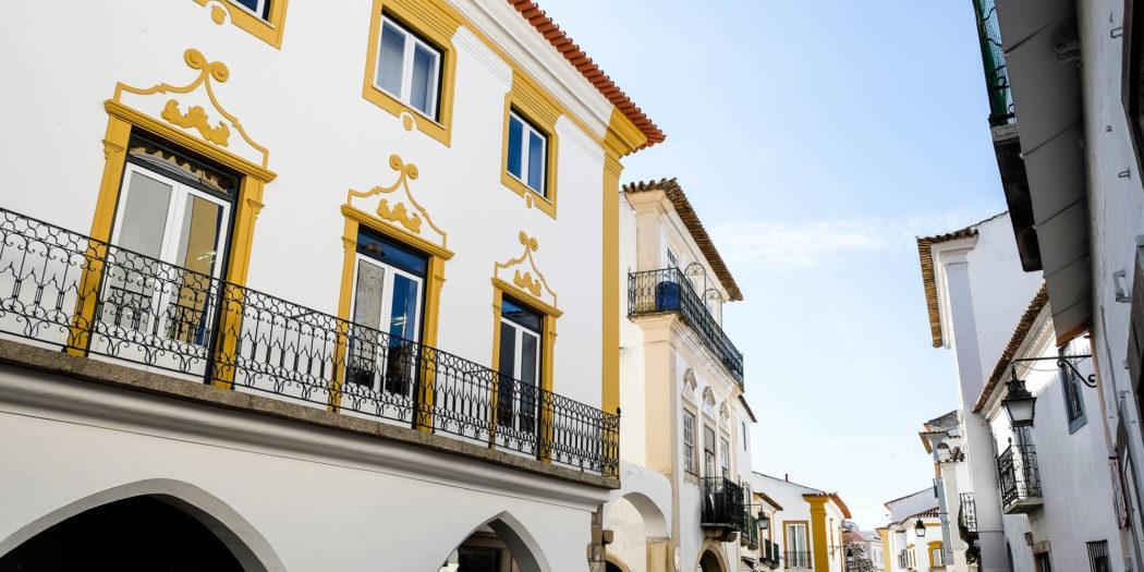 Hotel Évora hostal alojamiento Alentejo Portugal