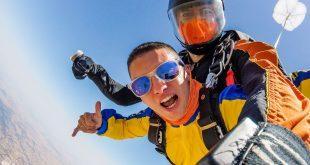 Salto en paracaídas, Paracaidismo Alentejo, Portugal – Tándem Évora