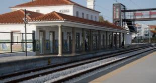 Percurso estações de comboios e autocarros – centro histórico