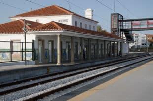 Percurso estacao comboios trens autocarros onibus Evora