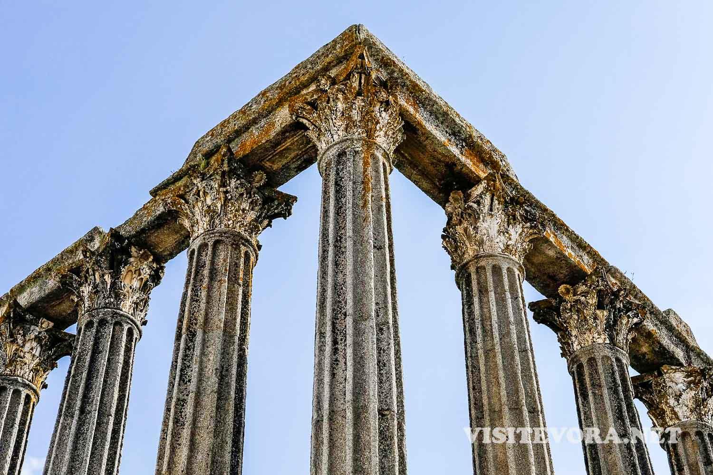 evora templo romano diana