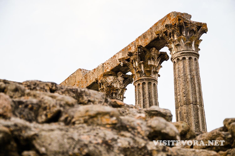 ruinas romanas evora
