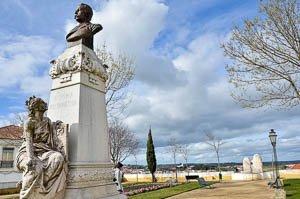 Jardim Diana Evora estatua
