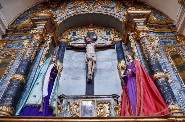 igreja carmo evora cruz