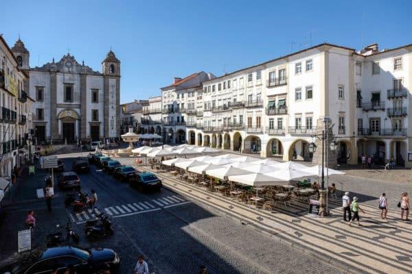 caminhar evora alentejo portugal