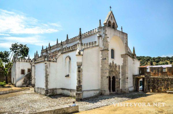 igreja matriz viana alentejo
