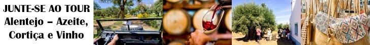 Tour Alentejo azeite cortiça vinho